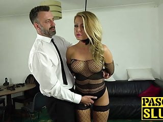 Joanna thomas escort Fishnets bombshell joanna bujoli anally rammed with big cock