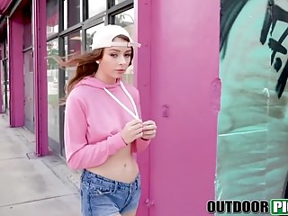 Fuck in public tearoom Cute teen alexa blake takes cash to fuck in public pov style