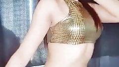 Indian Tik Tok Girl Belly Dance, Sexy Belly Dance
