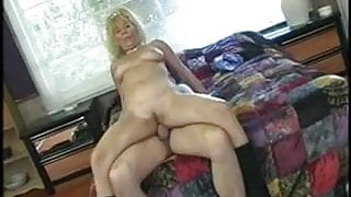 Hot Mature Blonde Granny Anal