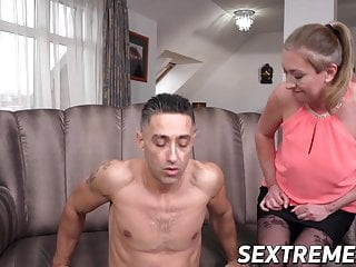 Big boobed lesbians stocking vids Lesbian with big boobs fucks very hard with tattooed man