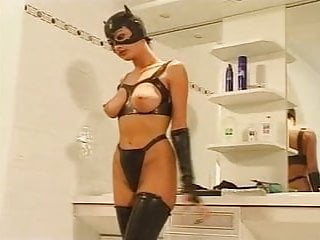 Women having sex with cats Black cat have lesbian fun with another woman