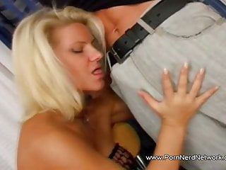 Man kissing womans boobs Lovely blonde woman make her man arouse and enjoys