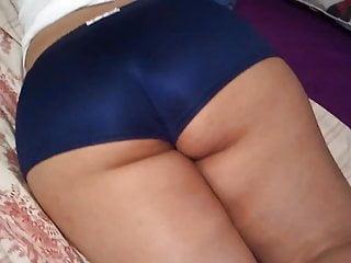 Sexy shorts models - Mom latina in blue sexy shorts