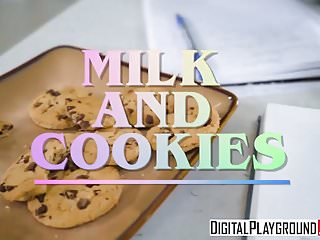King lion xxx - Xxx porn video - milk and cookies riley king and charles der