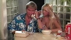 Tami White, Bionca, Jade East in classic porn scene