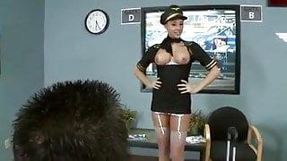pilot and horny stewardess