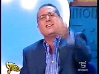 Big boobs on tv show Giovane manuela arcuri big tits in italian tv show.
