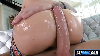 Ginger Milf with the nicest ass gets some hard anal pounding