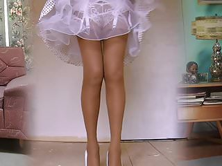 Porn made in the 1950 s 1950s nylon stockings legshow