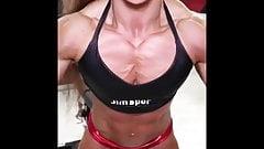 Muscle women show Veins