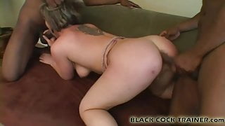 You can be in the room while I ride a big black cock