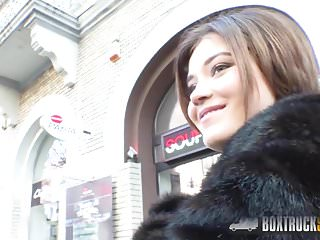 Public place sex tape - Hot veronica morre fucks in a public place