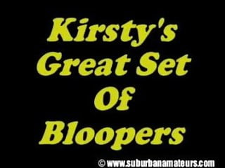Kirstie alley in bikini video Kirsty blooper video