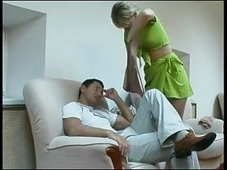 Guy licked by dog The guy licked pussy and put ...