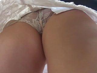 Bikini mesh roma - Frontal upskirt mesh panties