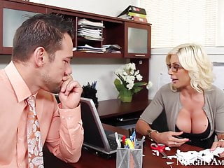 Fucking naughty office - Naughty america puma swede fucking in the office