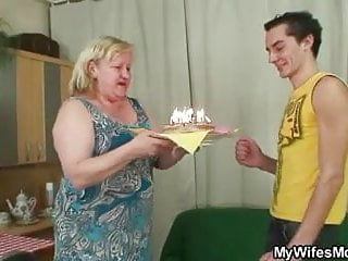 Free mother inlaw sex pics - Chubby mother inlaw lures him into sex