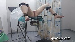 Episod-9 new  Exam girl on a gynecological chair