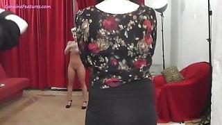Hidden camera with sexy MILF