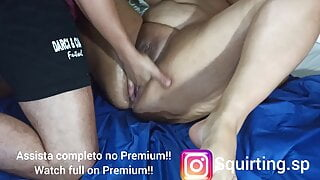 Massage with squirting #9, bbw squirting Brazilian hot milf