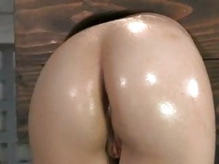Cunt boxing Girl in box ass fucked
