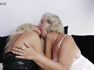 Young skinny lesbian - Fat granny fucked by skinny lesbian girl