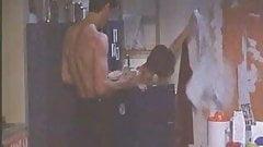 VERONICA LOGAN ACCIDENTAL UPSKIRT IN ITALIAN MOVIE