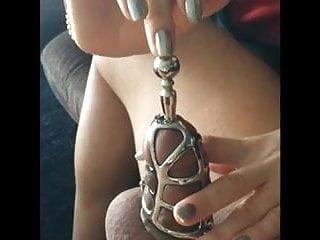 Bdsm chastity - Chastity insertion torture
