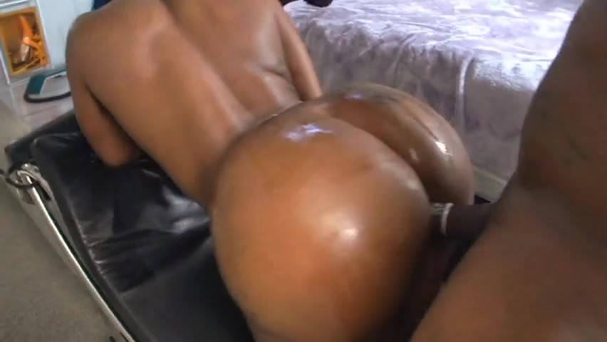 Big Black Booty Blowjob