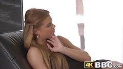 Beautiful teen enjoys having her pussy BBC banged