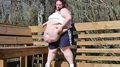 big fat pig let out...BMW