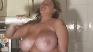 Terry Jane cream boobs
