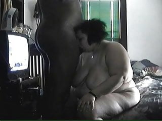 Black fat rated woman xxx Fat mature woman sucking and fucking
