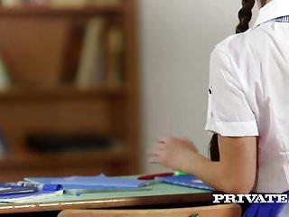 Sex teacher fire Private.com - trainee nurse cassie fire rides her teacher