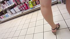 getting cheeky in the store