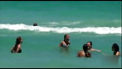 Kelly Ripa in a Blue Bikini