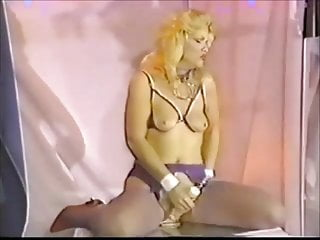 Vintage fuller cresent brush - Felisha brushing her pussy with a spiky toy