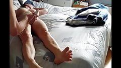 She is brought to orgasm with a vibrator