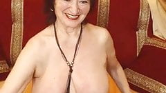 Pretty granny waits for you
