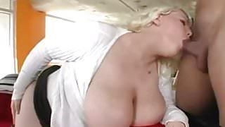 busty blonde bbw