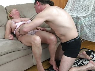 Loverboys gay 60 granny fucks with younger loverboy