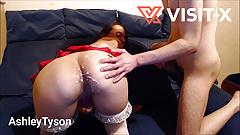 VISIT-X Girl begleicht Wetteschuld und wird hart gefickt