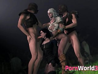 3d sex download 3d sex collection - whores from the witcher 3 fucked