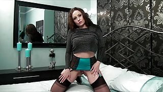 Lonely MILF Sophia makes a solo video while home alone