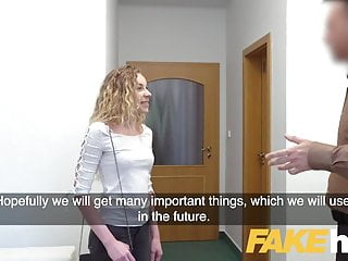 Fake model porn videos Fake agent sexy blonde french model in perfect casting blowj