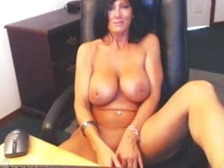 Best breast lift in the us Big breast brunette uses vibe on self