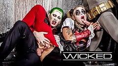 Wicked - Harley Quinn Fucks Joker & Batman