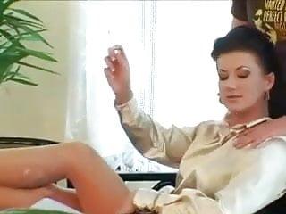 Satin lingerie sex Satin blouse foursome