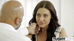TUSHY Student Gracie Glam Takes Anal From Older Guy